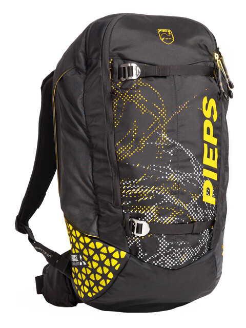 Pieps Jetforce Tour Rider 24 Avalanche Backpack black/yellow